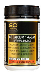 GO Healthy Calcium Natural Source 120 Caps