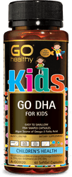 GO Healthy DHA for Kids 60 Caps