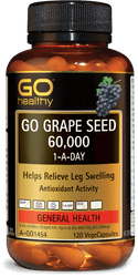 GO Healthy Grape Seed 60000mg 120 Caps