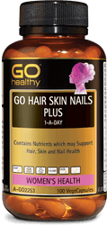 GO Healthy Hair Skin Nails Plus 100 Caps