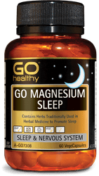 GO Healthy Magnesium Sleep 60 Caps