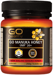 GO Healthy Manuka Honey UMF 20+ 250g