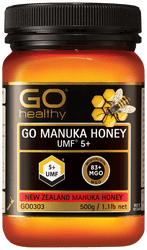GO Healthy Manuka Honey UMF 5+ 500g