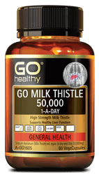 GO Healthy Milk Thistle 50000mg 60 Caps