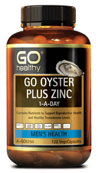 GO Healthy Oyster Plus Zinc 120 Caps