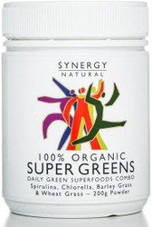Synergy Super Greens 200g Organic