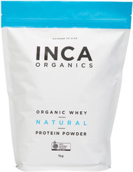 INCA Organics Organic Whey Natural Protein Superfood Powder 1kg
