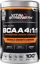 VitalStrength 100% Pure BCAA 4:1:1 375g