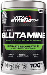 VitalStrength 100% Pure Glutamine Ultimate Recovery Fuel 450g