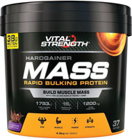 VitalStrength Hardgainer Mass Rapid Bulking Protein Chocolate Blast 4.5kg