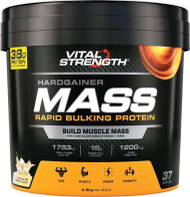 VitalStrength Hardgainer Mass Rapid Bulking Protein Vanilla Ice Cream 4.5kg