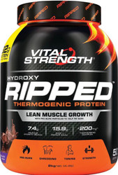 VitalStrength Hydroxy Ripped Thermogenic Protein 2kg Chocolate