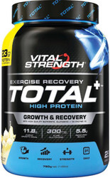 VitalStrength Total+ High Protein 750g Vanilla Ice Cream