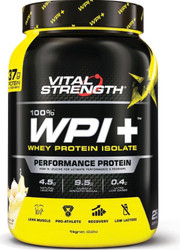 VitalStrength 100% WPI+ 1kg Performance Protein Vanilla Ice Cream