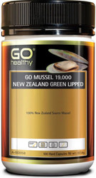 GO Healthy NZ Green Lipped Mussel 19000mg 100 Caps