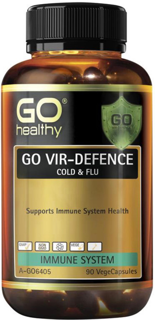 GO Healthy Vir-Defence Cold & Flu 90 Caps