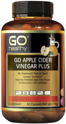 GO Healthy Apple Cider Vinegar Plus 60 Caps