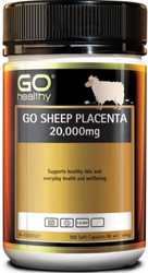 GO Healthy Sheep Placenta 20000mg 100 Caps
