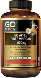 GO Healthy Apple Cider Vinegar 1000mg 90 Caps