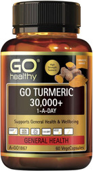 GO Healthy Turmeric 30000+ 60 Caps