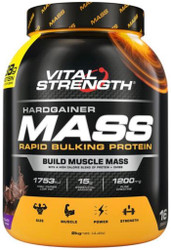 VitalStrength Hardgainer Mass Rapid Bulking Protein Chocolate Blast 2kg