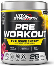 VitalStrength Pre-Workout Watermelon Smash 225g