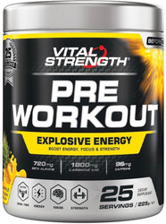 VitalStrength Pre-Workout Pineapple Punch 225g
