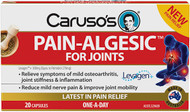 Caruso's Natural Health Pain-Algesic for Joints 20 Caps