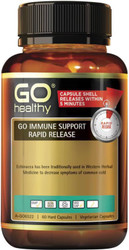 GO Healthy Immune Support Rapid Release 60 Vege Caps