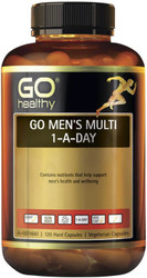 GO Healthy Mens Multi 1-A-Day 120 Vege Caps