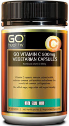 GO Healthy Vitamin C 500mg 100 Vegetarian Caps
