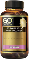 GO Healthy Royal Jelly With Collagen 60 Soft Caps