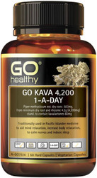 GO Healthy Kava 4200mg 1-a-day 60 Vege Caps