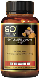 GO Healthy Turmeric 30000+ 1-a-Day 30 Caps