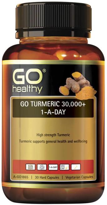 GO Healthy Turmeric 30000+ 1-a-Day 30 Caps