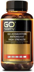 GO Healthy Astaxanthin Antioxidant High Strength 90 Soft Caps