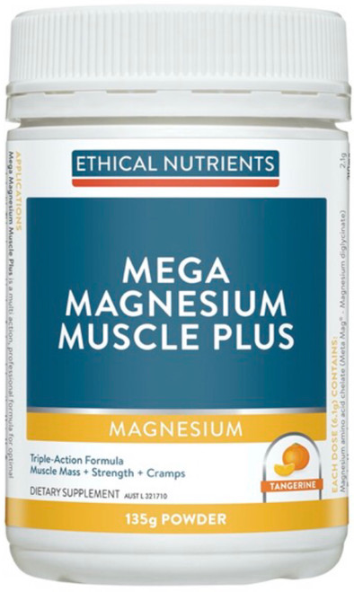 Ethical Nutrients Mega Magnesium Muscle Plus 135g