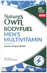 Nature's Own Bodyfuel Mens Multivitamin 60 Tabs