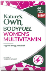 Nature's Own Bodyfuel Womens Multivitamin 60 Tabs