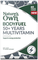 Nature's Own Bodyfuel 50+ Multivitamin 60 Tabs