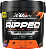 VitalStrength Hydroxy Ripped Thermogenic Protein 3kg Chocolate Blast
