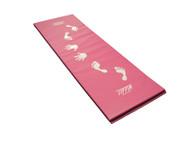 """Pink Cartwheel Mat (Vinyl) 2'x6'x1-1/8"""""""
