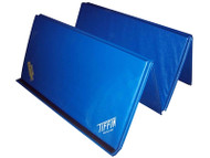 4'x 6 'x 1-3/8' Blue Tumbler Folding Mat