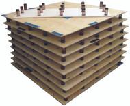Russian Baltic Birch Assembled Floor
