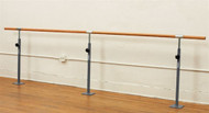 Single Floor Mounted Ballet Bar
