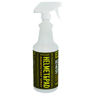 Your helmet protects you from impacts. Matguard protects you from harmful germs and bacteria. Spray down helmets and pads to safely clean and disinfect all equipment used for Football, Lacrosse, Hockey, Baseball, Soccer, etc. 32oz bottle.