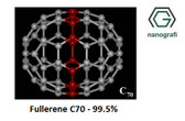 Fullerene-C70 Purity: 99.5%