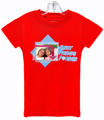 NEW! Faceshirt with Pix-Pockets lets you wear and share your FAV photos in a whole new fun way. Best Friends Forever design, wear and change photos whenever you want!