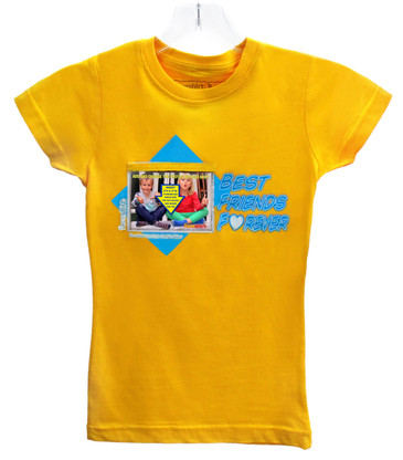 NEW! Insert photo into Pix-Pockets and Wear, Share & Change your FAV photos. Best Friends Forever shirt.