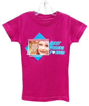 NEW! Fun Foto-Fashion: Faceshirts with Pix-Pockets is the new fun way to wear and share your FAV photos with family and friends and everyone you meet. Make someone feel special by wearing their photo and you can change the photo on your shirt whenever you want. Who's Face Will You Wear!